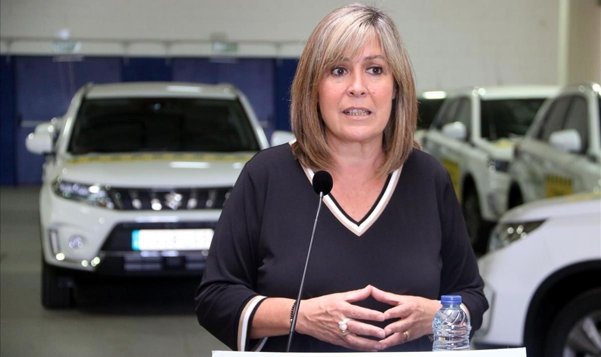 La alcaldesa de L'Hospitalet, Núria Marín.