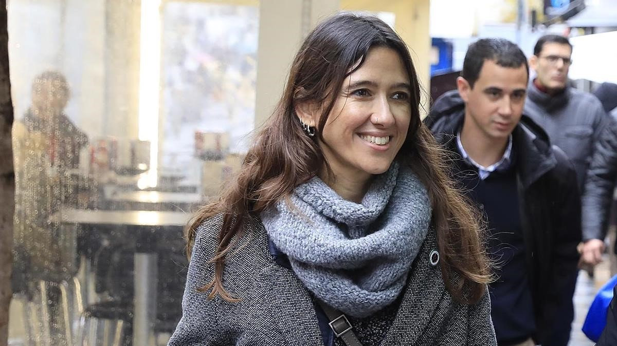 La alcaldesa de Santa Coloma de Gramenet, Núria Parlon, el pasado mes de diciembre.