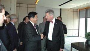 El antiguo director de la estrategia de política exterior de la UE Gerhard Sabathil.