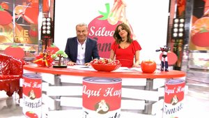 Así fue el regreso de 'Aquí hay tomate', con Jorge Javier y Carmen Alcayde juntos de nuevo