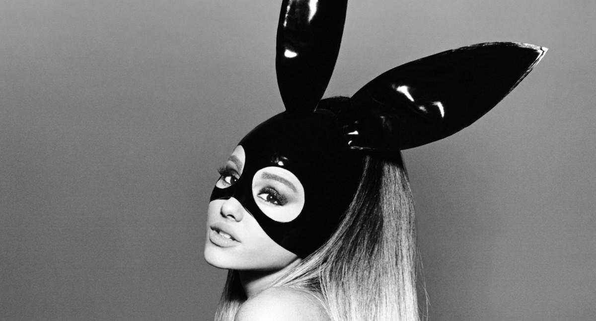 Ariana Grande, una imagen promocional de 'Dangerous woman'.