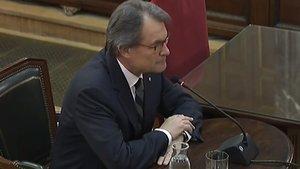 Artur Mas declara en el Supremo.