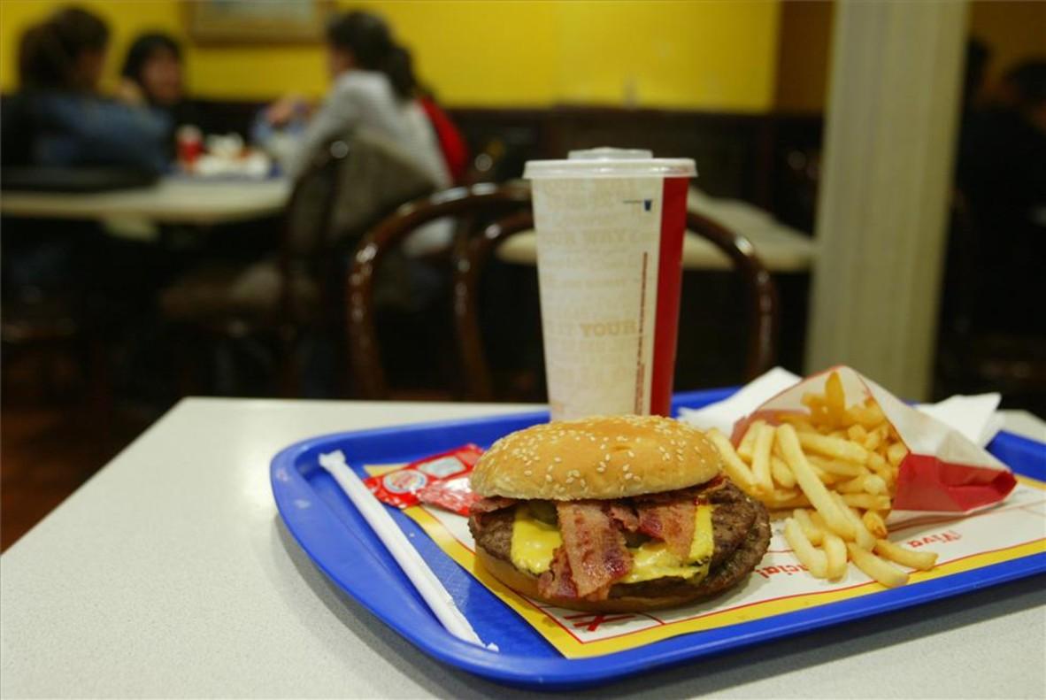 Comida rapida para perder peso