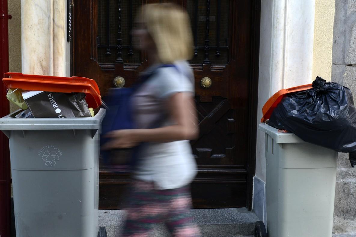 Huelga de basuras en Madrid: 1.600 trabajadores paran de forma indefinida