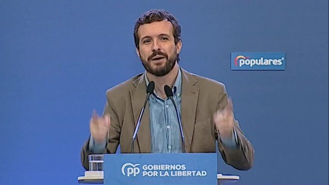 Casado acusa el Govern de tapar la polèmica de Delgado amb la censura parental