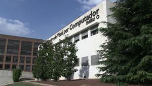 Fachada del Centre de Visió per Computador de la UAB.
