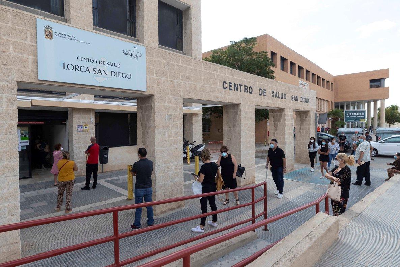 Imagen del centro de Salud del Barrio de San Diego de Lorca, Murcia.
