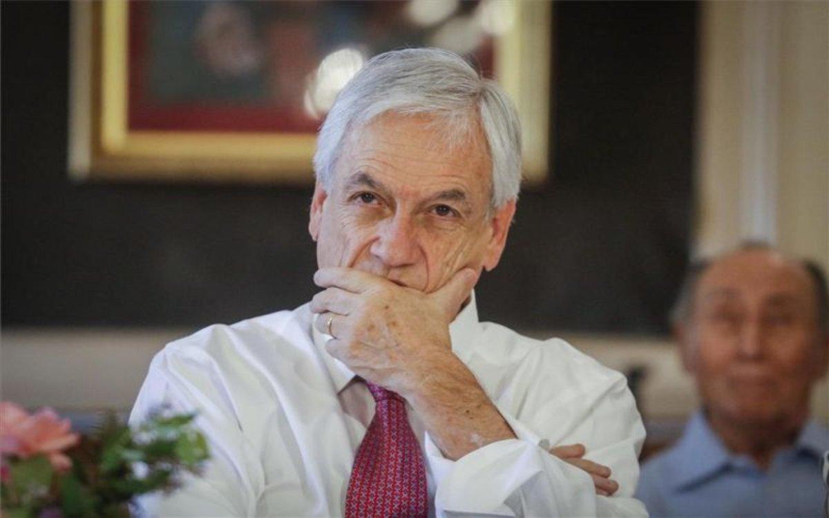El presidente de Chile, Sebastián Piñera teme el recrudecimiento del malestar social en medio de la pandemia