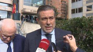 El consejero de Justicia, Interior y Víctimas de la Comunidad de Madrid, Enrique López.