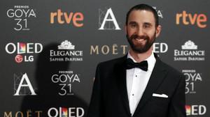 Dani Rovira, el presentador de la gala, en la alfombra roja.