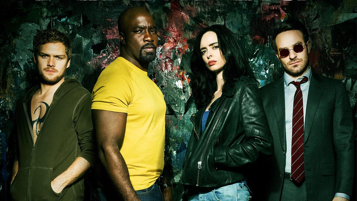 Imagen promocional de la nueva serie Los Defensores, de la plataforma Netflix.