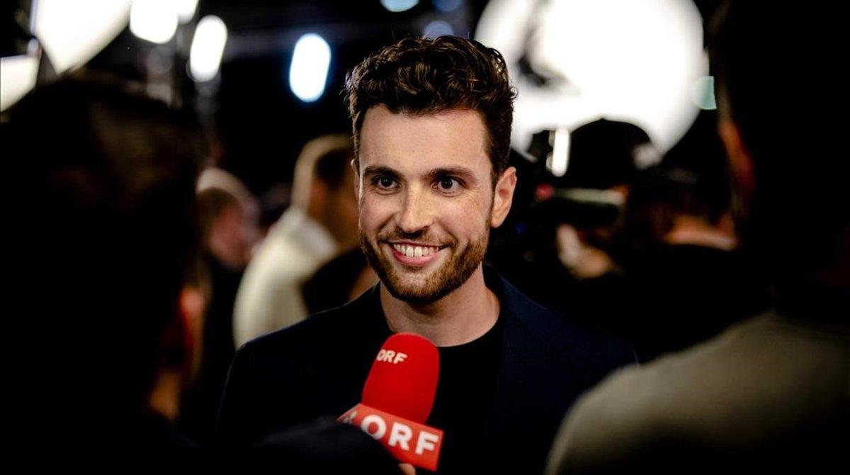 El representante de Holanda en Eurovisión 2019 Duncan Laurence.
