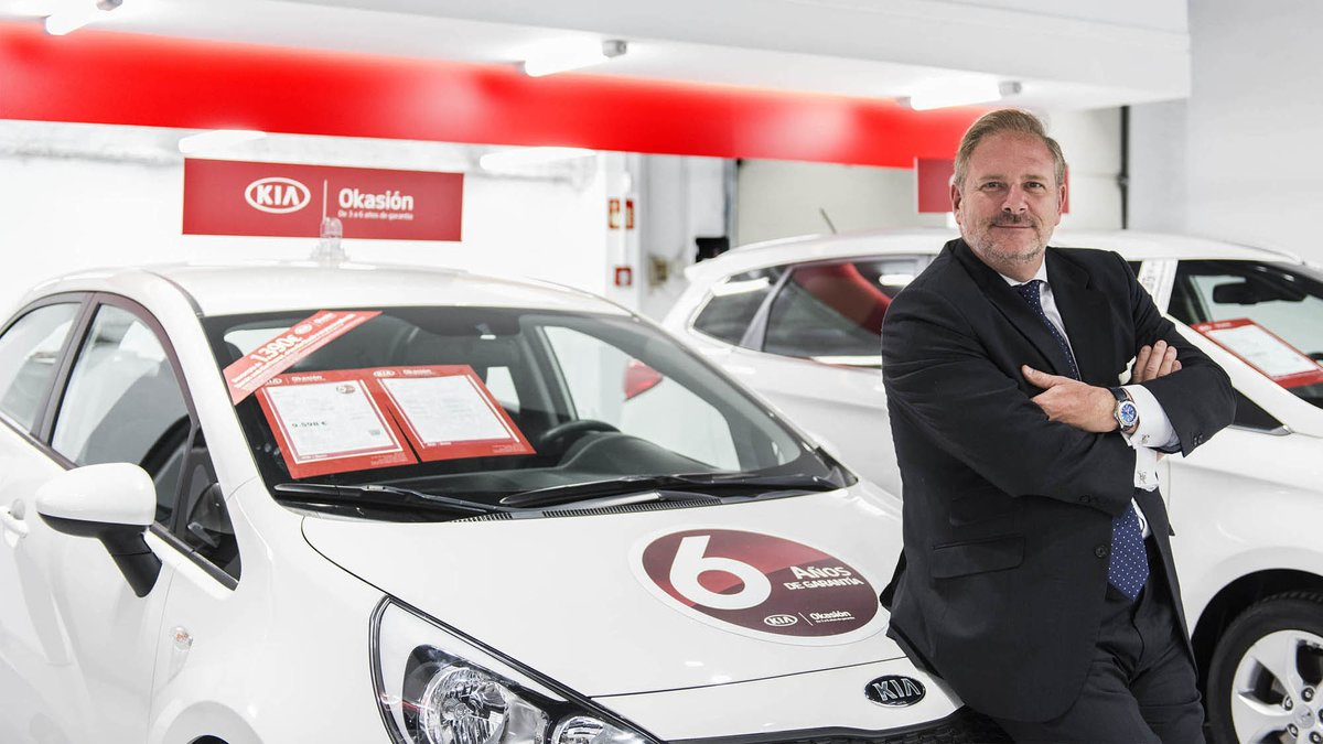 Eduardo Divar, director general de Kia Motors Iberia