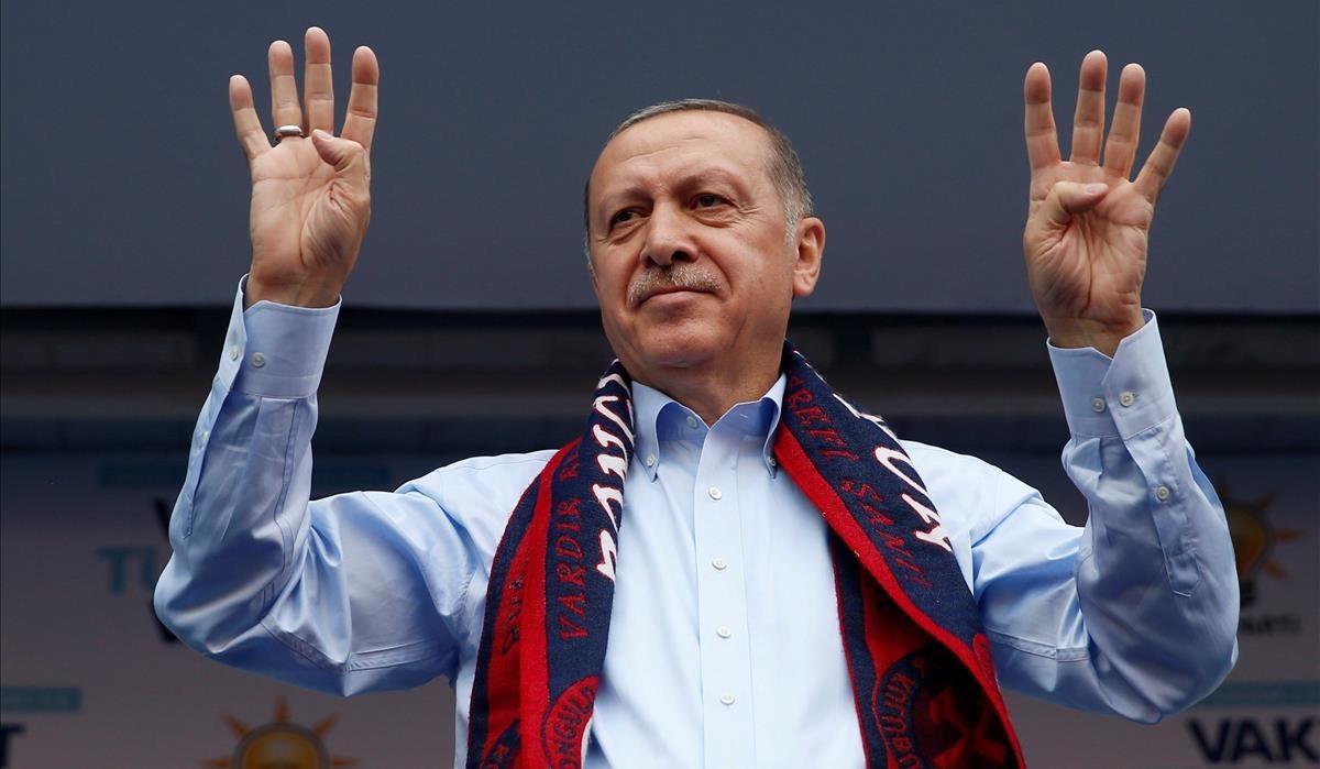 Erdogan, presidente de Turquía.