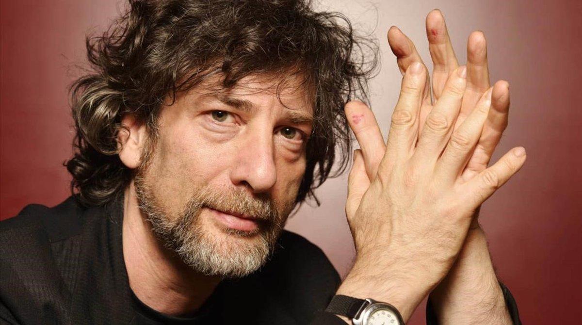 El escritor Neil Gaiman.