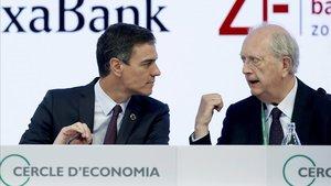 Sánchez reivindica el seu europeisme davant de l'empresariat