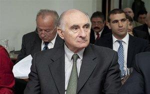 El expresidente de Argentina, Fernando de la Rúa.