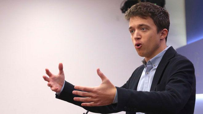 Errejón deixa el seu escó al Congrés dels Diputats