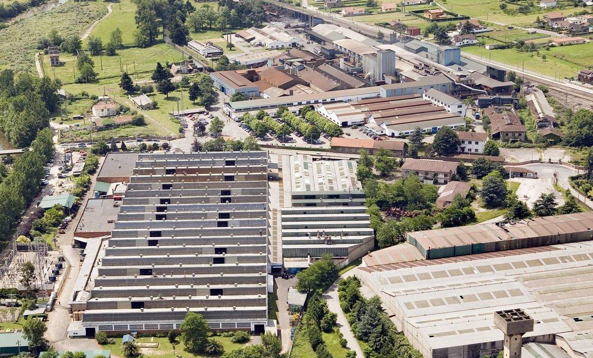 Factoría de Nissan en Los Corrales de Buelna (Cantabria).
