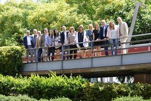 Fotografía conjunta de los concejales que conforman el gobierno de L'Hospitalet 2019-2023