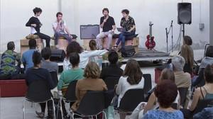 Concierto de Angolena Aline Frazao, en el centro cívico de Albareda.