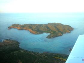El islote Illa den Colom, en Menorca.