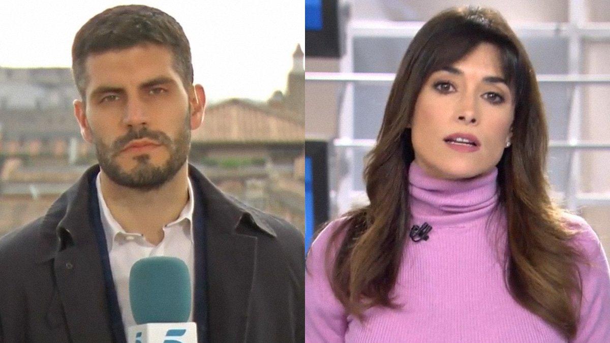 Un reportero explica el motivo de su error viral en una conexión con 'Informativos Telecinco'
