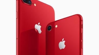Apple lanza el iPhone 8 y el iPhone 8 Plus en rojo