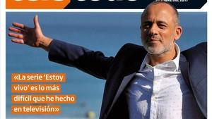 Javier Gutiérrez, en la portada de Teletodo.