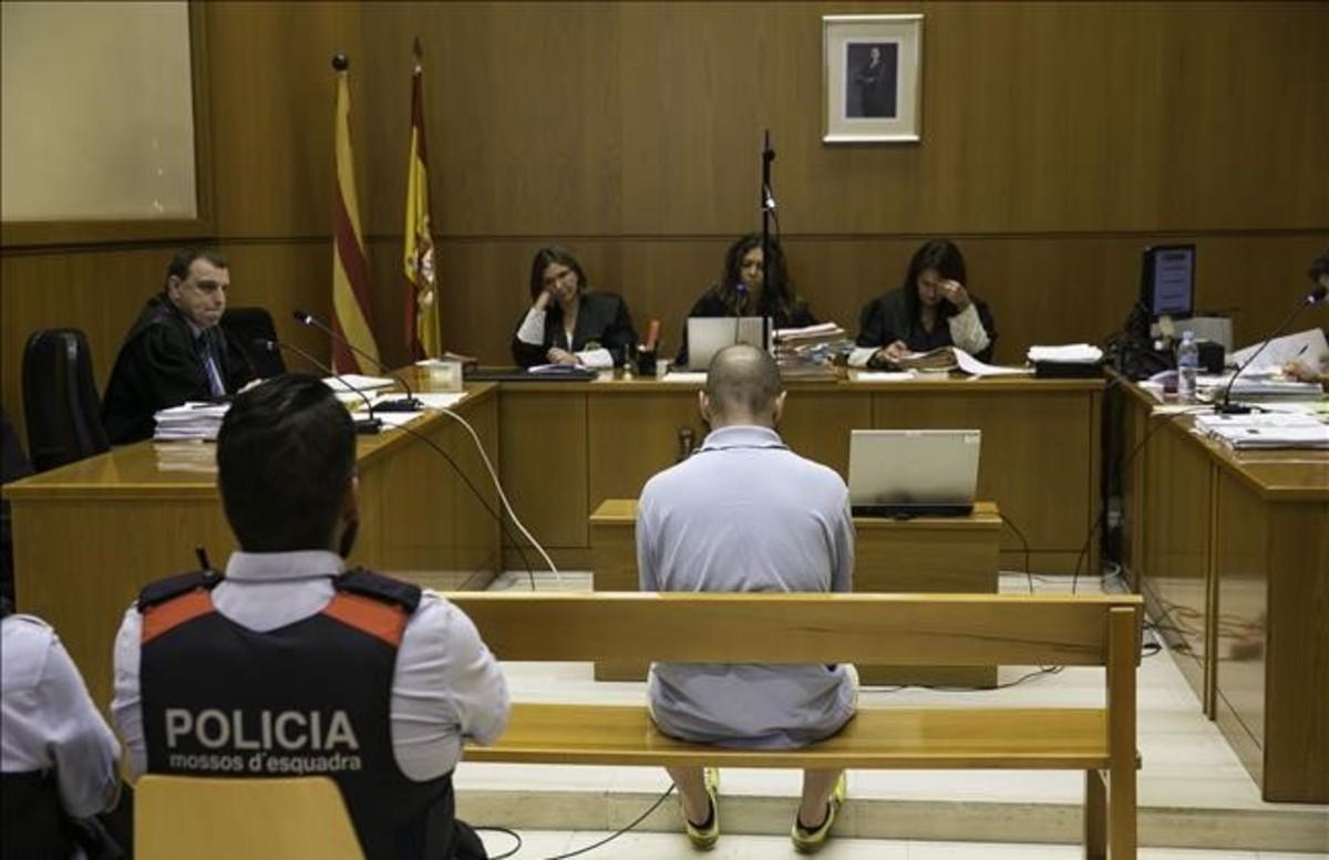 Terenci Gabernet, en el juicio que se ha celebrado este miércoles en la Audiencia de Barcelona.