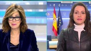 "Inés Arrimadas llama a 'Susanna' a Ana Rosa: ""No te preocupes, antes me decían Teresa"""