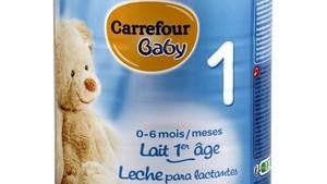 Retirades dues llets infantils de Carrefour pel brot de salmonel·losi a França