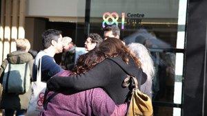 Imagen de la inauguración del Centro LGBTI de Barcelona.