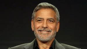 George Clooney es deixa veure a l'illa de La Palma