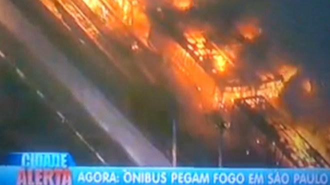 En Río de Janeiro una persona ha muerto en los disturbios tras la derrota de Brasil.
