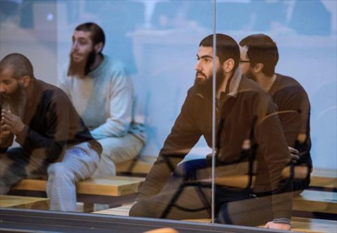 Yihadistas juzgados en la Audiencia Nacional.
