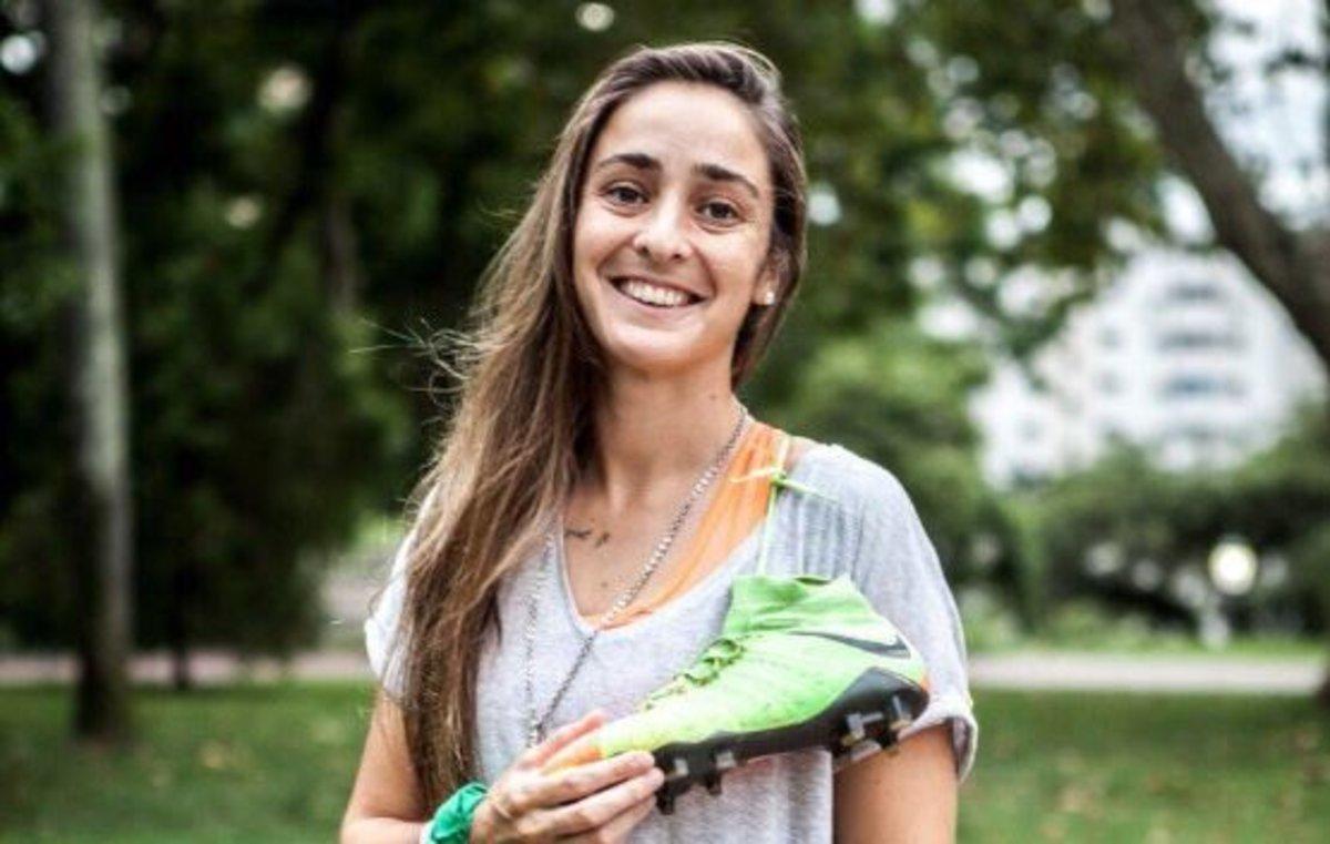 Maca Sánchez, la mujer que lucha por un fútbol feminista