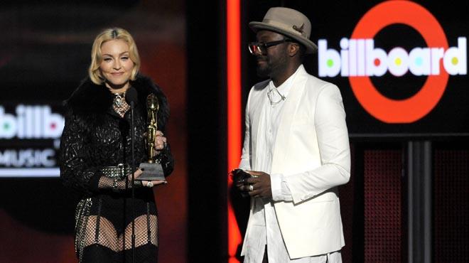 Madonna en los premios Billboard 2016, en Nueva York.