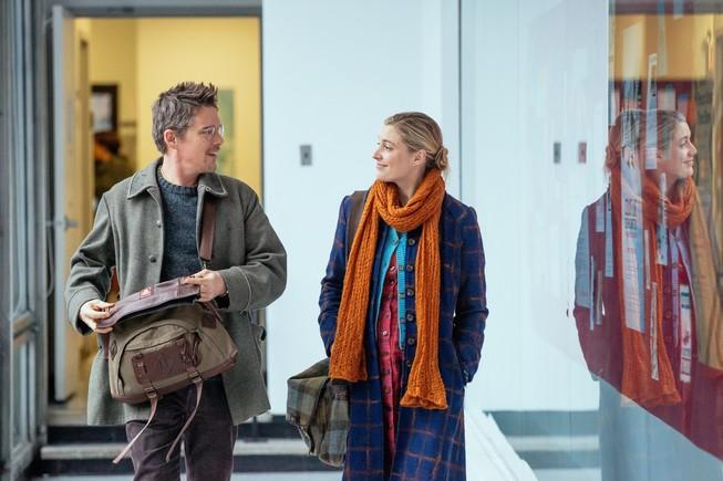 Una escena de 'Maggie's Plan', de Rebecca Miller, con Ethan Hawke yGreta Gerwig.