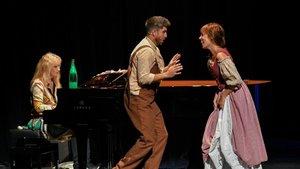 Una escena de Mans a lòpera!, de El Petit Liceu.