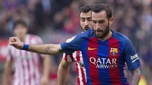 Aleix Vidal rep l'alta mèdica i viatja a la final de Copa