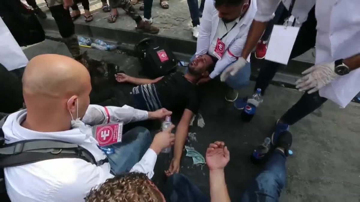 Al menos 44 muertos en cuatro días de protestas en Irak.