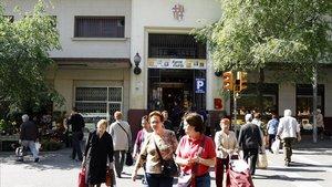 El mercado de Horta.