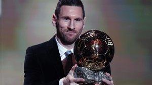 Messi agarra su sexto de Balón de Oro.