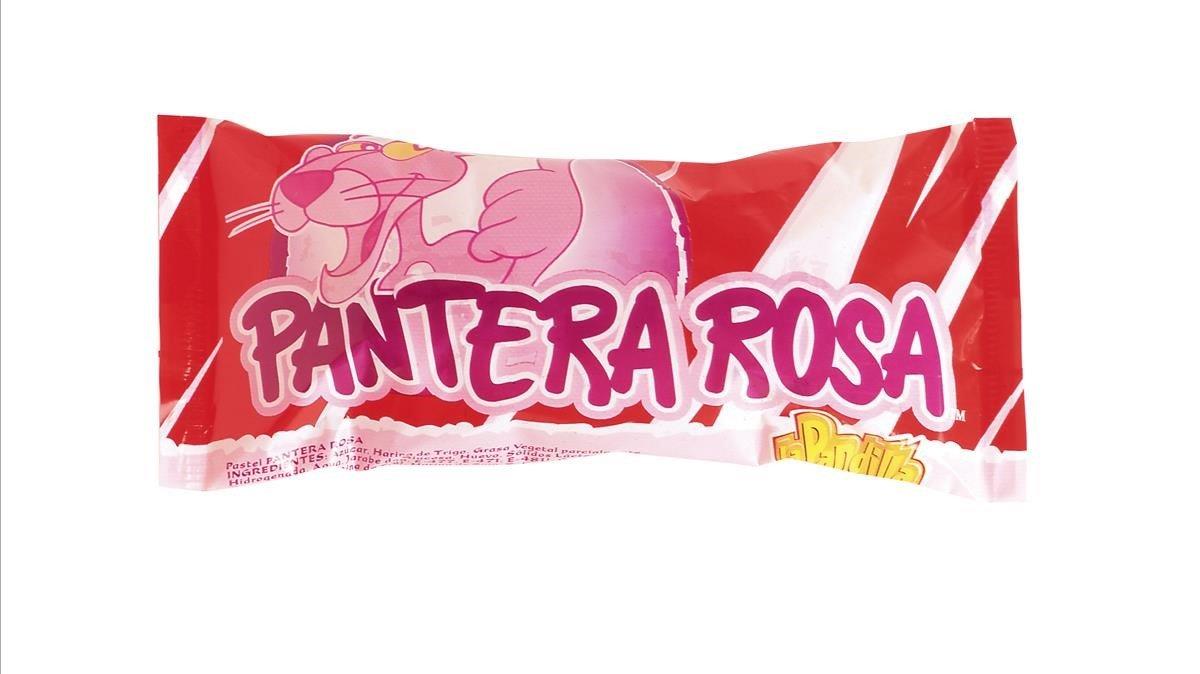Un pastelito de la Pantera Rosa
