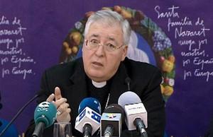 El obispo de Alcalá de Henares, Juan Antonio Reig Pla.