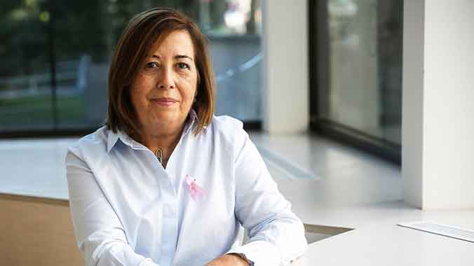 Pilar va superar un càncer de mama: «Tots tenim més forces del que ens pensem»