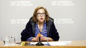 La ya exconsejera de Sanidad de Aragón Pilar Ventura