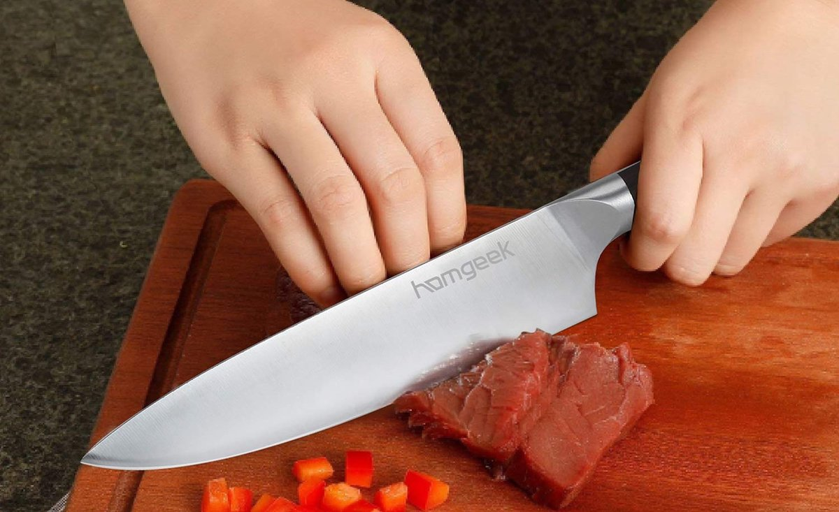 Conviértete en un auténtico chef con estos cuchillos de cocina