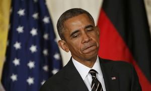 El president dels EUA, Barack Obama, dilluns passat.